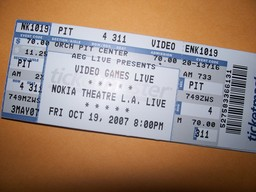 Video Games Live Ticket
